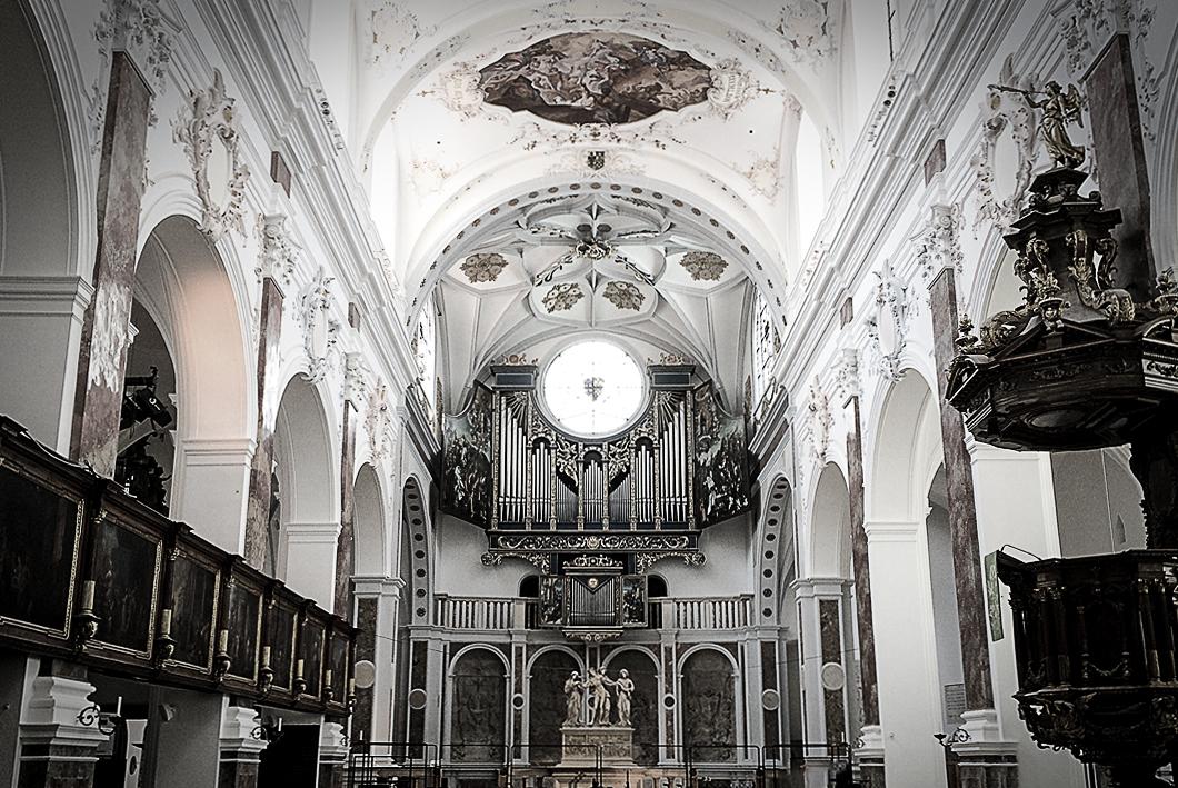 St. Anna Kirche Augsburg, Uraufführung von Patrick T. Schäfers Oper